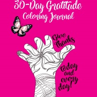 30 Hand-drawn Hands Printables Coloring Sheets with PLR