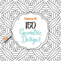 Patterns#1 - 150 Geometric Designs with PLR