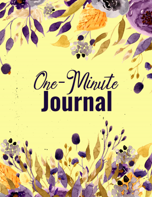 One-Minute Journal with PLR