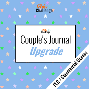 NEW! Couple's Journal Upgrade with PLR