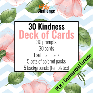NEW! Kindness Deck of Cards