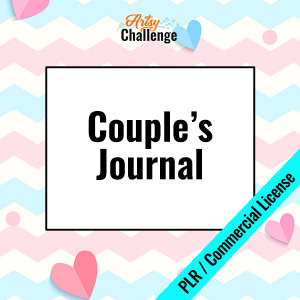 NEW! Couple's Journal with PLR and CU License