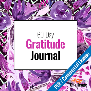 60-Day Gratitude Journal