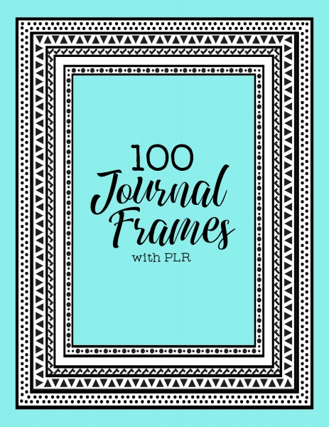 100 Journal Frames with PLR