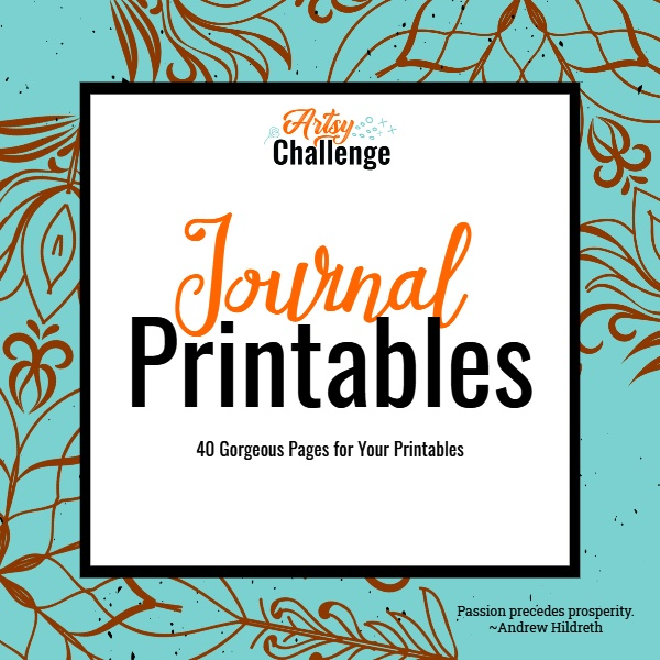 Journal Printables with PLR