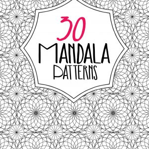 30 Mandala Patterns with PLR